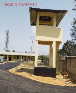 Secutiry tower